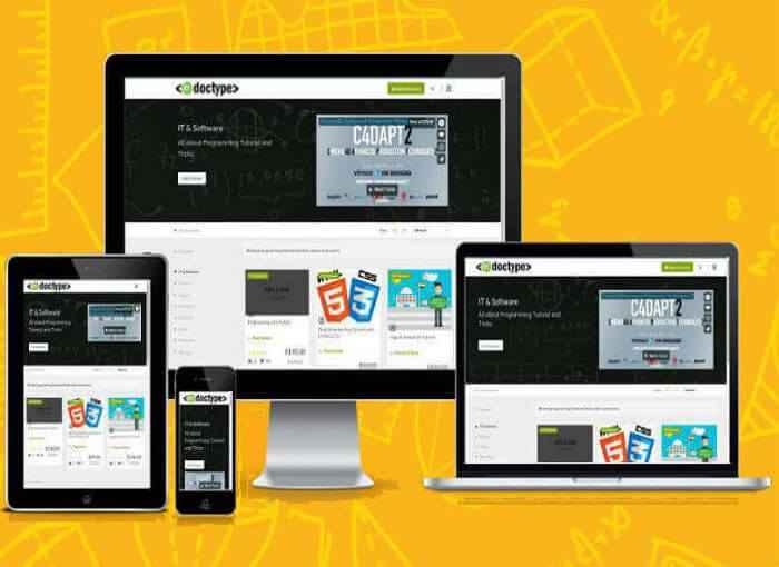 Udemy Clone – Lynda Clone – Coursera Clone – Redoctype – Best Moodle Alternative